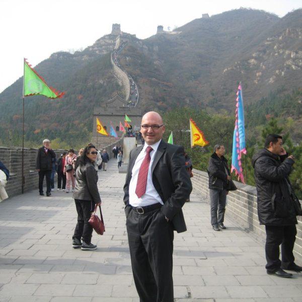 Prof. dr Milan Jovanović, Kineski zid 2011.