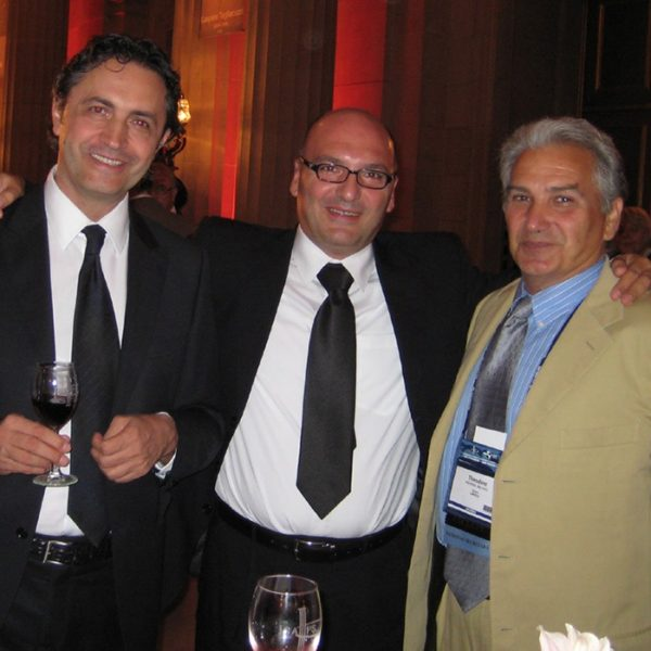 Prof. dr. Colic, Prof. dr. Jovanovic, Prof. dr. Voukidis Theodore