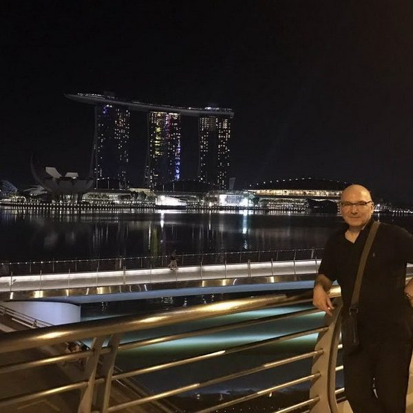 Prof. dr Milan Jovanović, Singapore 2017.
