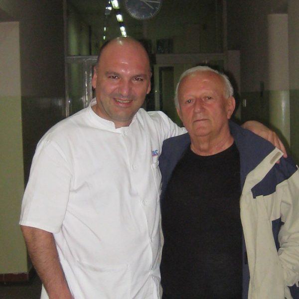 Prof. dr Jovanović i Prim. dr Jeftić
