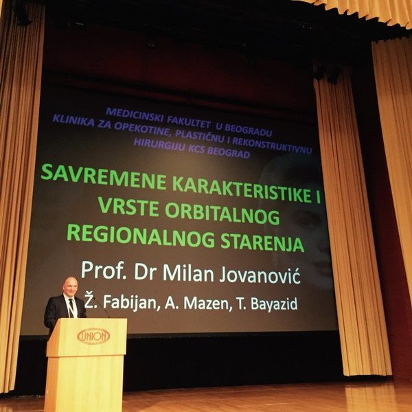 Prof. dr Milan Jovanović, Slovenija, Ljubljana 2015.