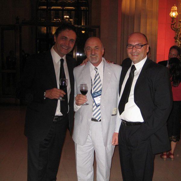 Prof. dr Colic, Prof. dr Antonio Mottura, Argentina, Prof. dr Jovanovic, 2010.