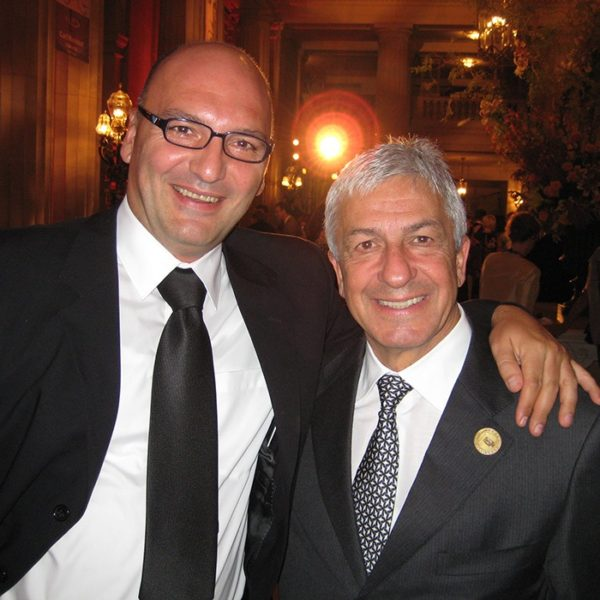 Prof. dr Milan Jovanović i Prof. dr GOES Joao Carlos Sampario, Brasil