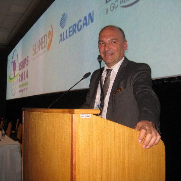 Prof. dr Milan Jovanović, 22st ISAPS Congress, September, 2014. Brazil