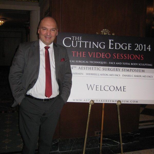 Prof. dr Milan Jovanović, USA, New York, 34th The Cutting Edge 2014.