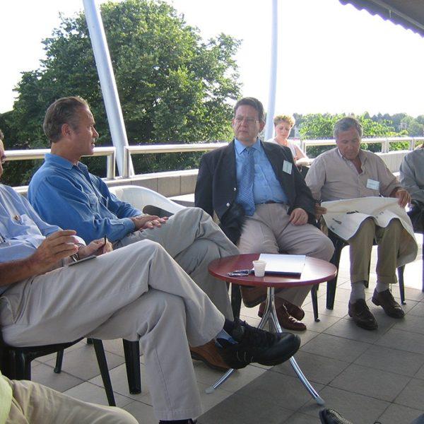 Prof. dr Milan Jovanović, Jedna od najboljih stručnih diskusija na terasi Galathea, 2005.