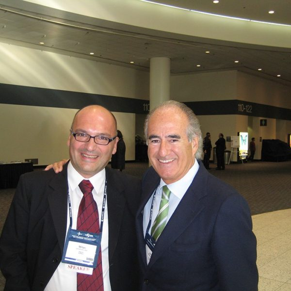 Prof. dr Milan Jovanović i Prof. dr Benito Javier, Spain, 2010.