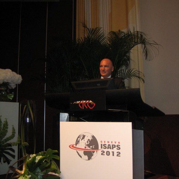 Prof. dr Milan Jovanović, 21st ISAPS Congress u Genevi