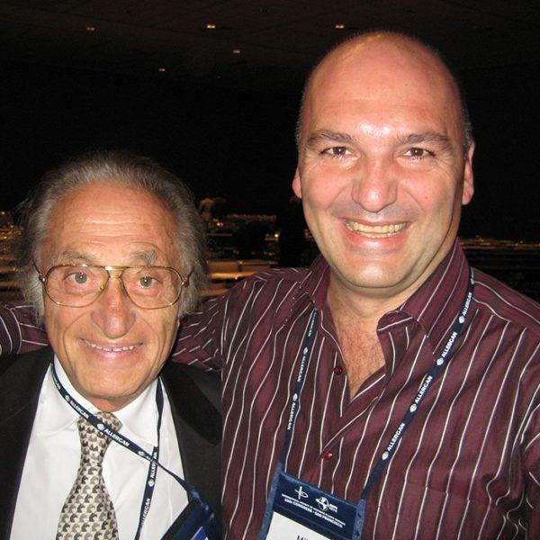 Prof. dr Milan Jovanović i Prof. dr ILLOUZ Yves-Gerard, France