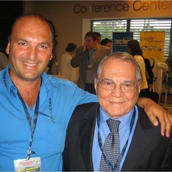 Prof. Dr Jovanovic sa Prof. Dr Pitangijem (Brazil), 2005.