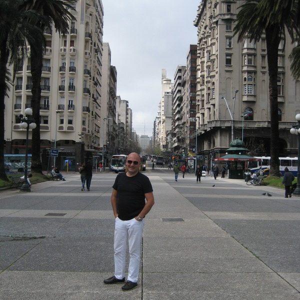 Prof. dr Milan Jovanović, URUGVAY - MONTEVIDEO, South America, 2014