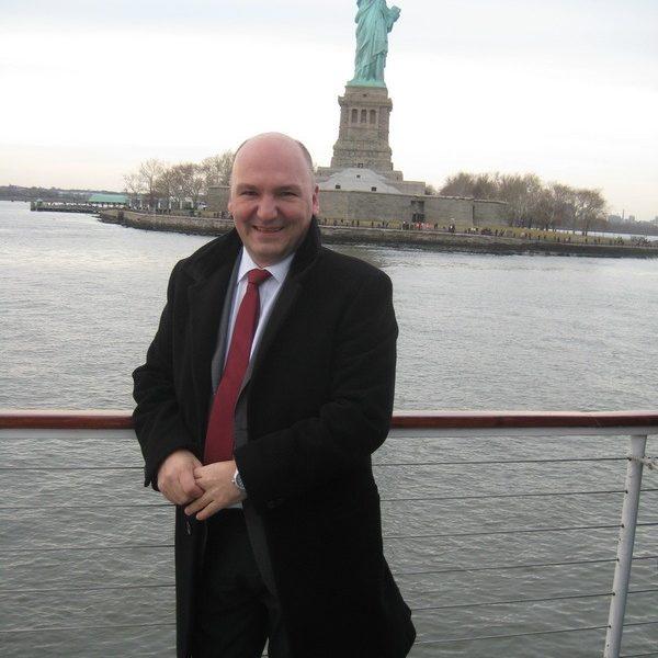 Prof. dr Milan Jovanović, New York 2014.