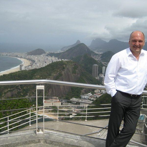 Prof. dr Milan Jovanović, Rio de Janeiro, 2014