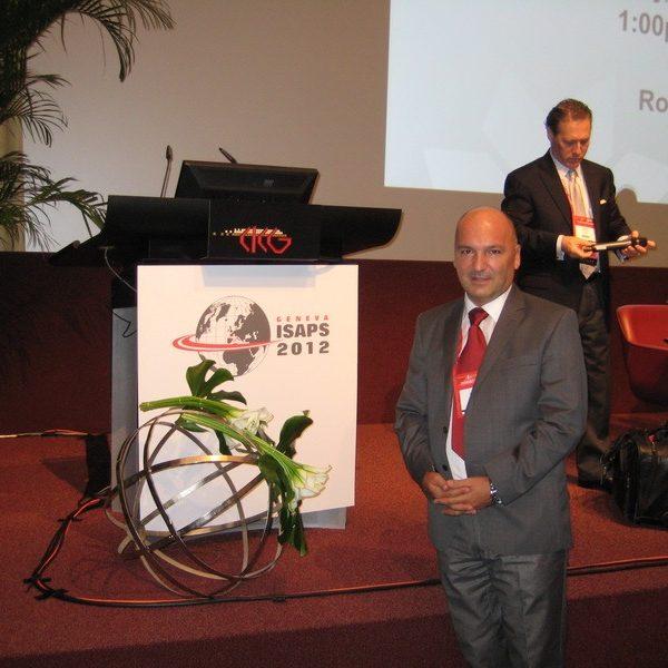 Prof. dr Milan Jovanović, 21st ISAPS Congress September 4-8. 2012. Geneva, Switzerland