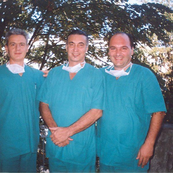 Dr Dubljevic, Prof. drToledo, Prof. dr Jovanovic, Galathea 2003