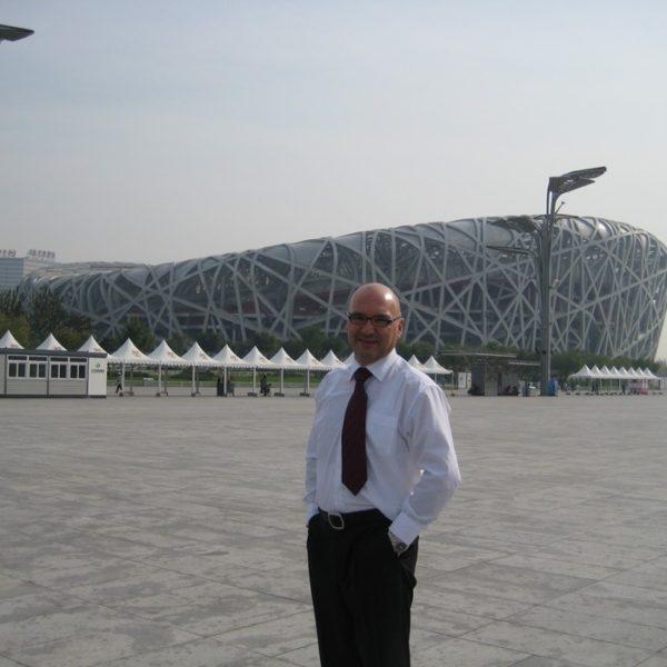 Prof. dr Milan Jovanović, Peking