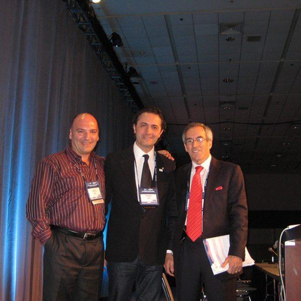 Prof. dr Jovanovic, Prof. dr Colic, dr Benard Alpert (USA)