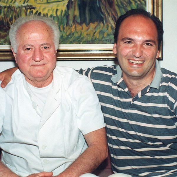 Prof. dr Milan Jovanović i Prof Karapandžić