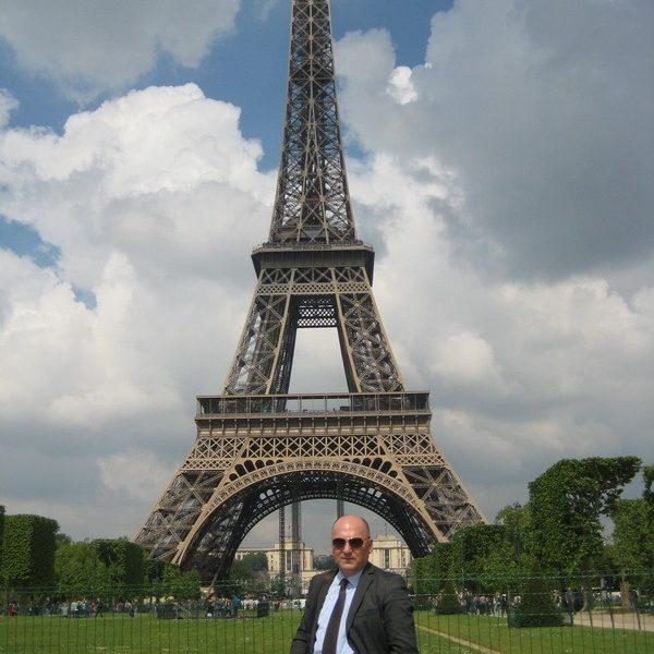 Prof. dr Milan Jovanović, Paris, 2014