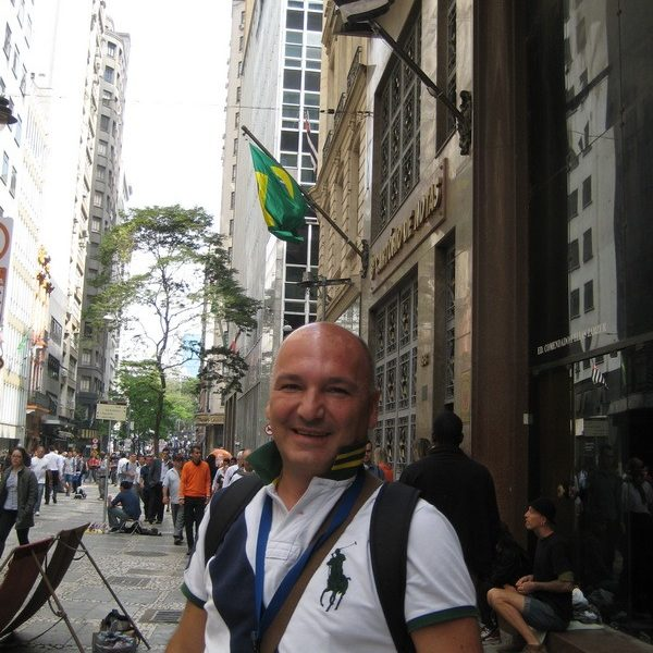 Prof. dr Milan Jovanović, Sao Paulo - Brazil, 2014