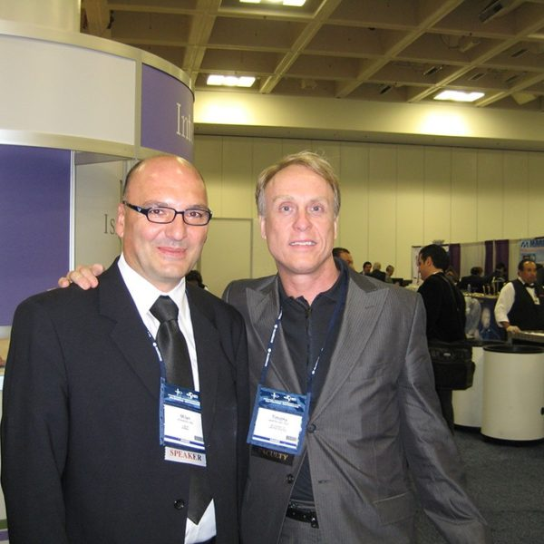 Prof. dr Milan Jovanović i Timothy Marten, USA, 2010.