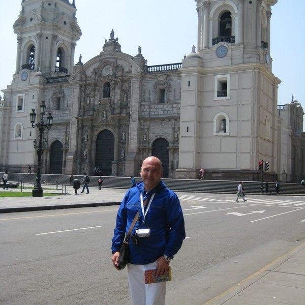 Prof. dr Milan Jovanović, Peru, Lima, South America, 2014