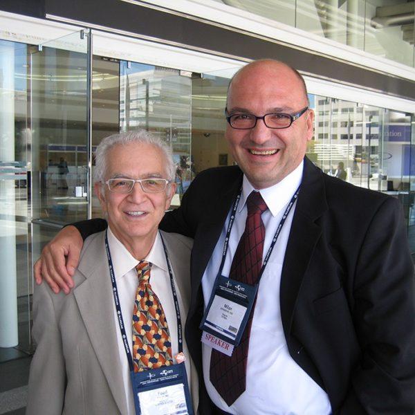 Prof. dr Milan Jovanović i Prof. dr Foad Nahai (USA), 2010.