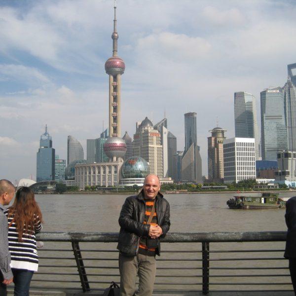 Prof. dr Milan Jovanović, Šangaj, Kina (Shanghai, China)