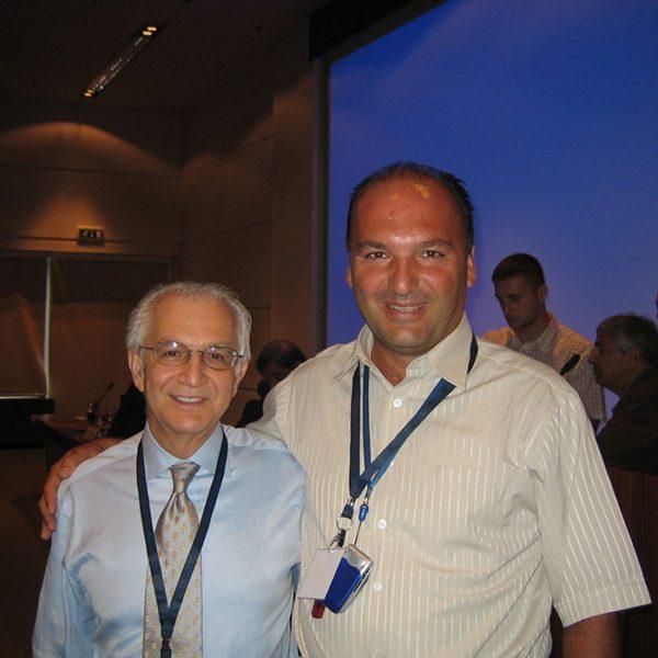 Prof. dr Milan Jovanović i Prof. dr Foad Nahai (USA), 2005.
