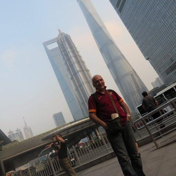 Prof. dr Milan Jovanović, Shanghai, Kina 2016.