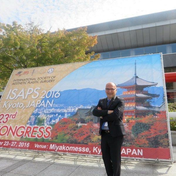 Prof. dr Milan Jovanović, 23rd ISAPS Congress Kyoto, JAPAN, 2016