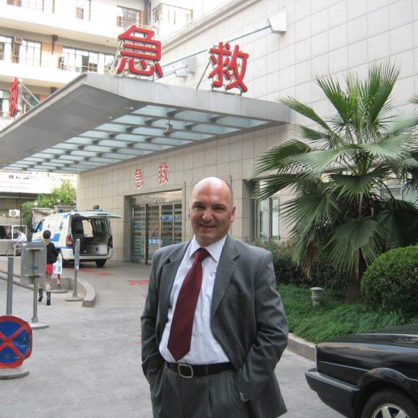 Prof. dr Milan Jovanović, Ruijin hospital