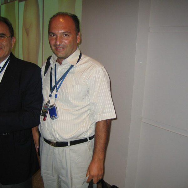 Prof. dr Milan Jovanović i Onur Erol (Turkey) 2005.