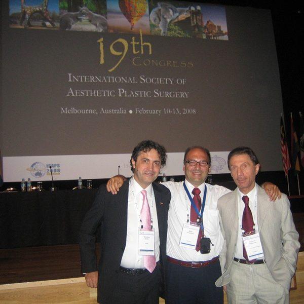 Prof. dr Milan Jovanović, 19th Congress ISAPS, Ekipa iz Srbije, 2008, Melbourne Australia