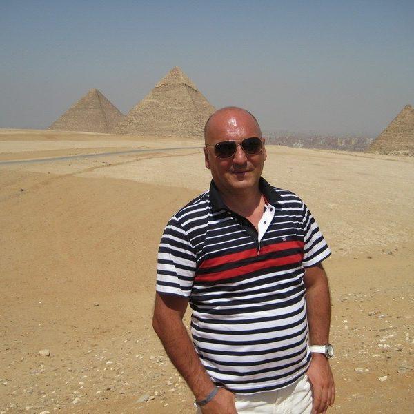 Prof. dr Milan Jovanović, Egypt, Cairo, 2014