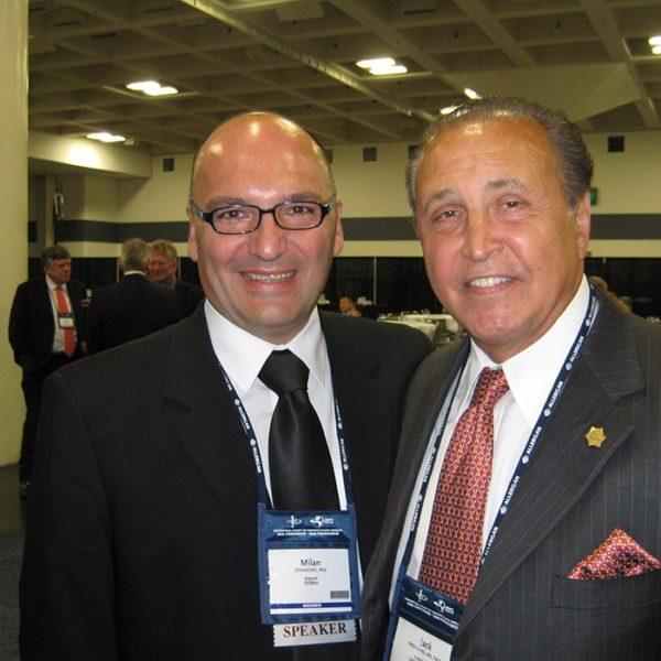 Prof. dr Milan Jovanović i Jack Friedlan, USA, 2010.