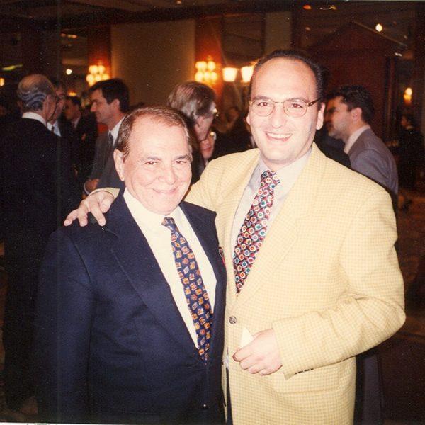 Prof. dr Milan Jovanović i Ivo Pitanguy (Brazil), 1996
