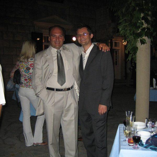 Prof. dr Milan Jovanović, ISAPS-ov kurs, Sveti Stefan, 2005