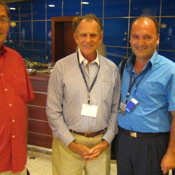 Prof. dr Jovanović sa Dr Đuričićem i Prof. Thomas Biggs-om (USA)