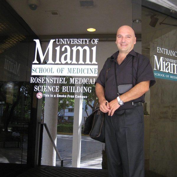 Prof. dr Milan Jovanović, Medicinski fakultet u Miami-ju, USA