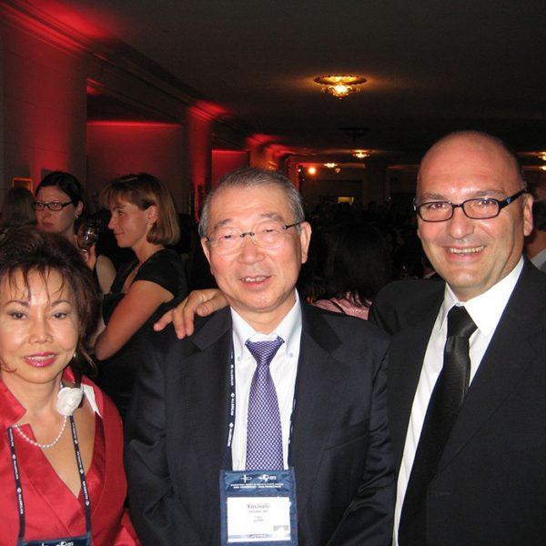 Prof. dr Milan Jovanović i Prof. dr Yoshiaki Hosaka, Japan, 2010.