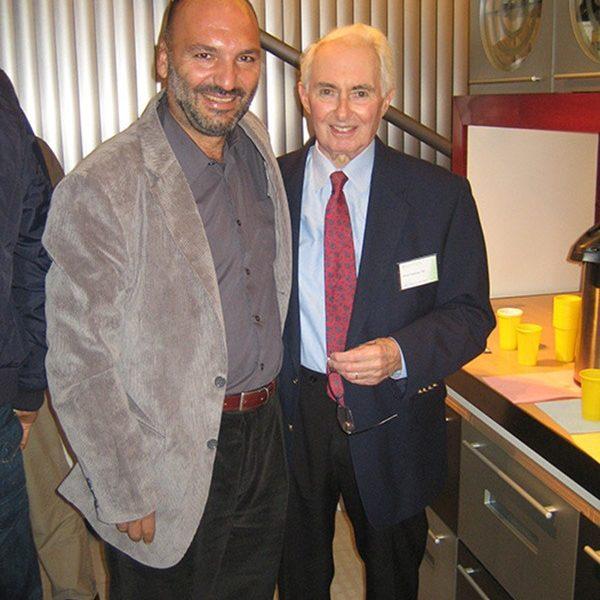 Prof. dr Milan Jovanović i Robert Goldwyn, USA, Glavni i odgovorni urednik PRS, 2008.