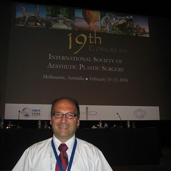 Prof. dr Milan Jovanović, 19th Congress ISAPS, 2008, Australia