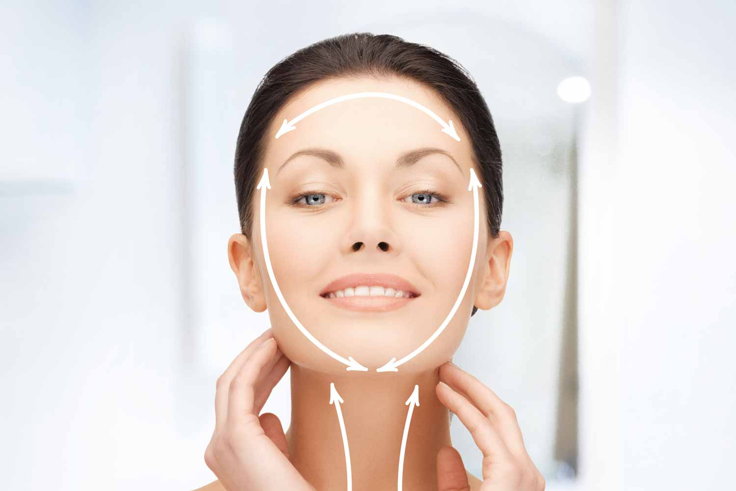 Zatezanje lica (face lifting)