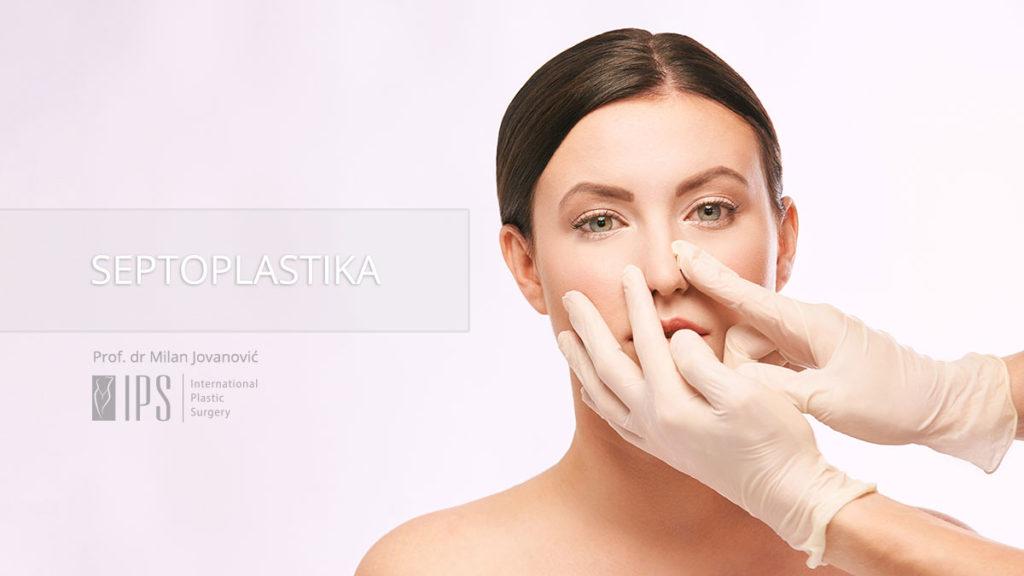 Operacija devijacije septuma nosa - Septoplastika